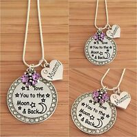 Personalised Gift Necklace for mum sister nan - Mother's day Birthday Xmas gift