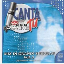 CANTA TU - ORIGINALE - MIX GRANDI SUCCESSI vol 3- NCR 721