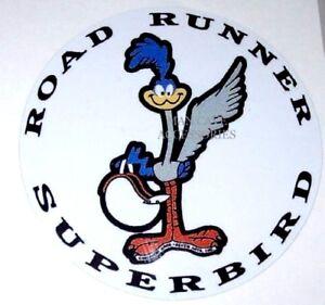 Plymouth Road Runner Superbird Vinyl Decal Sticker 4166