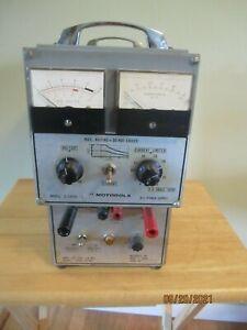 RATELCO INC. MOTOROLA POWER SUPPLY MODEL S-1305A