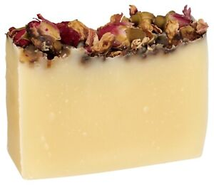Rose Herbal Soap Bar 100% Pure Essential Oils by Fabulous Frannie