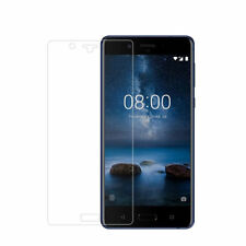 Nokia 8 Tempered Glass Screen Protector Premium Thin Film Clear