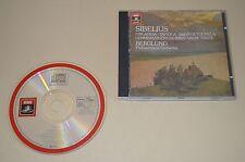 Sibelius - Finlandia, Tapiola, ... / Berglund / EMI 1983 / Made In Japan / Rar