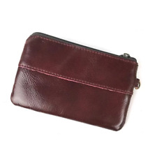 MVA Coin Purse Men Genuine Leather Men Wallets Leather Wallets Small Slim Wallet