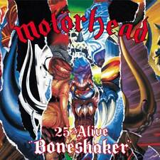 Motorhead '25 And Alive Boneshaker' CD/DVD - NEW