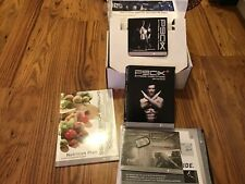 P90X Exttreme Home Fitness Workout complete 12 Dvd Set Fitness Guide.