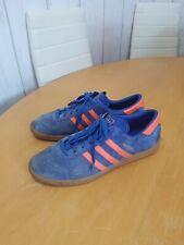 Adidas Hamburg 10 Blue and Orange size uk 12
