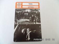 CARTE FICHE CINEMA 1919 TRAVAIL Leon Mathot Raphael Duflos Huguette Duflos