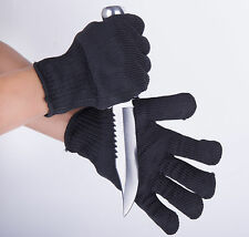 HMQC Personal Protection Cut-resistant Tactical Gloves Security Self Defense