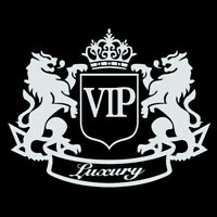 1x VIP The Lion Funny Cartoon Auto Car Sticker Window Stickers Vinyl Decal