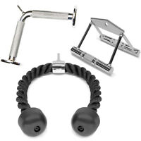 A2ZCare Cable Attachments: Double D Handle, Tricep Rope, V Shaped Bar