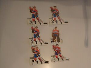 VINTAGE TIN MEN HOCKEY PLAYERS FROM A BOBBY HULL HOCKEY GAME
