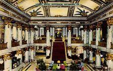 Vintage Color Linen Postcard - Hotel Jefferson, Richmond, Va