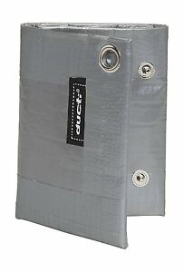 Ducti Triplett Silver Super Duct Tape Trifold Wallet - Silver