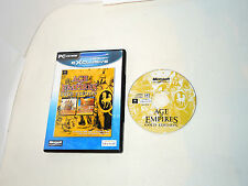 AGE OF EMPIRES GOLD EDITION complete PC game boxed with manual in original case