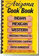 Arizona Cook Book Indian Mexican Western Cookbook