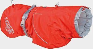 Hurtta Monsoon Coat ECO Weatherproof Jacket Raincoat Rosehip, Size 90cm/35in