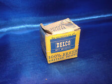 Vintage AC Delco Battery Road Flare GM -1950s