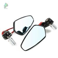 Motorcycle Handle Bar End Rearview Mirror For Honda CB1000 CB1000R CB125E CB125F