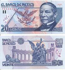 México/México - 20 pesos 1992 serie C UNC-pick 100
