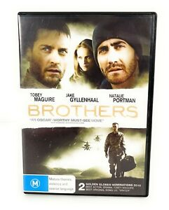 Brothers (DVD, 2009) Jake Gyllenhaal Region 4 Free Postage