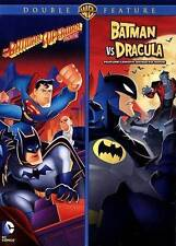 The Batman Superman Movie/The Batman vs. Dracula DVD double feature DC hero