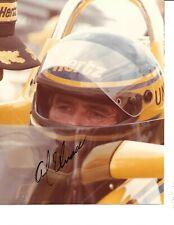 Autographed Al Unser, Sr. CART Indy Car Racing Photograph
