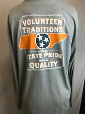 "New Volunteer Traditions ""Vols State Pride"" Long Sleeve T-Shirt, Gray, XL"