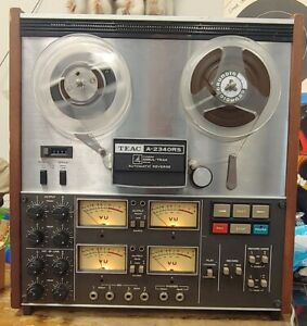 TEAC A-2340RS 7 inch 4 Track STEREO QUAD reel to reel tape deck recorder