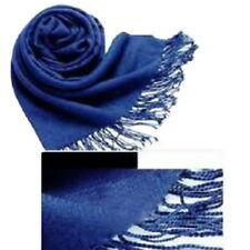 Damenschal Oversized Unifarbe Kaschmir Lange Schal Wrap Warm Tassels Winterschal