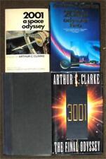 ARTHUR C CLARKE 4 SPACE ODYSSEY 2001 ~ 2010 ~ 2061 ~ 3001 ~ 1 SIGNED COPY LOT 52