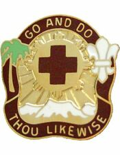 0328 Combat Support Hospital Unit Crest (Go And Do Thou Likewise)