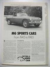 MG British Car & Truck Advertising Collectables
