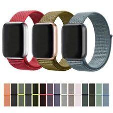 pour séries Apple Watch iWatch 1/2/3/4/5 Bracelet en nylon sport bande à boucle