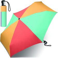 ESPRIT Damen-Regenschirm bunt Taschenschirm kurz Teleskopschirm Damenschirm NEU