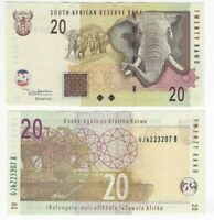 SOUTH AFRICA 20 Rand AU/UNC Banknote (2005) ND P-129a Sig. Mboweni Paper Money