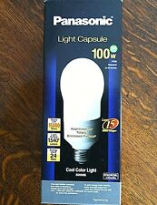 Light Bulbs Lighting Panasonic Energy Saving Home Barn Sheds Workshop 100 w 24w