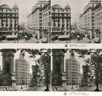 15 interessante STEREOFOTOS,  BARCELONA 1925, Spain Spanien, Serie 2