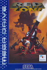 # red zone-Sega Mega Drive/MD juego-Top #