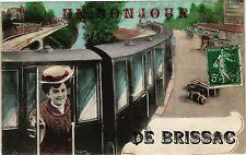 CPA Un Bonjour de Brissac (189961)