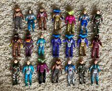 Vintage Dino Riders Action Figures Lot 21 Pieces $.01 Nr!