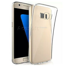 Clear Soft Silicone Rubber Protective Case Skin for AT&T Samsung Galax