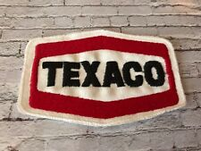 Vintage retro Texaco embroidered patch - Motor sport racing sponsorship patch