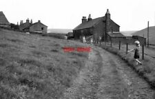 PHOTO  1968 ROUGH BANK MILNROW LANCASHIRE THIS 1968 VIEW SHOWS A TYPICAL PENNINE