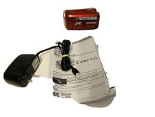 JVC Everio GZ-MS230RU Video Camera Camcorder + bag + Red