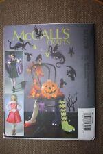 McCalls M7209 Crafts Pattern Halloween Items Sizes Xs-xl Uncut