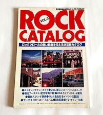 ROCK CATALOG VOL.3 JAPAN BOOK 1978 Rolling Stones Led Zeppelin Beatles Bob Dylan