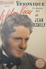 Cinema Magazine Kodak Film Experience of 1950 Jean Desailly Veronique