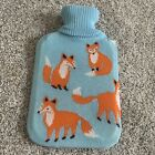Fox Hot Water Bottle and Cover by Morgan & Finch Home Collection (new, with tag)