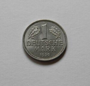 BRD: 1 DM 1950 G, J. 385, fast stempelglanz, I., SELTEN !!!